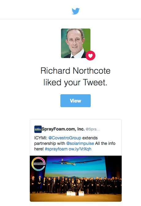 Richard Northcote liked a SprayFoam.com tweet.