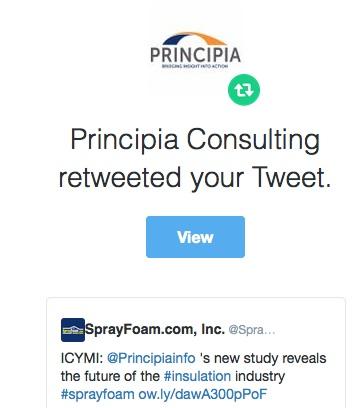 Principia Consulting retweeted SprayFoam.com