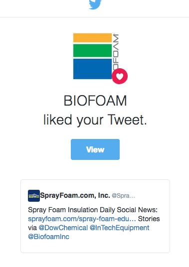 BIOFOAM liked a SprayFoam.com tweet.